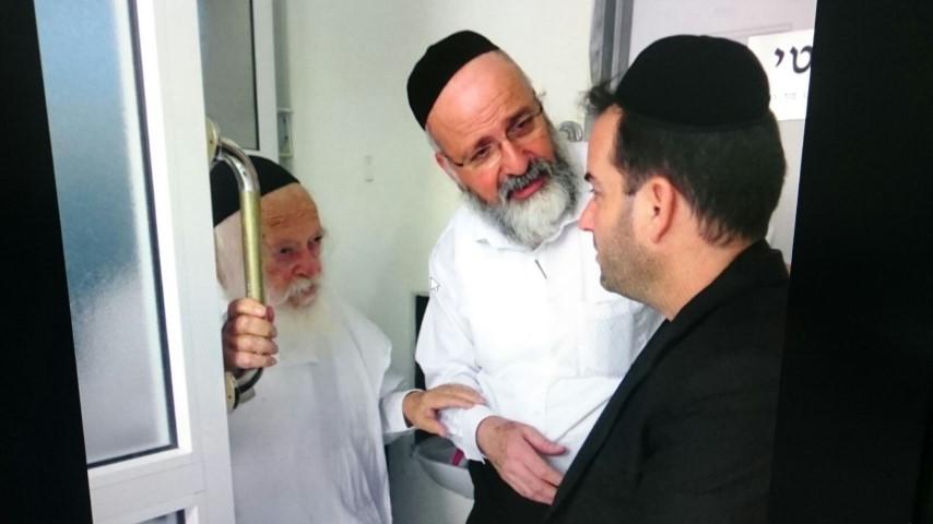 הרב קנייבסקי ויד ימינו אפשטיין